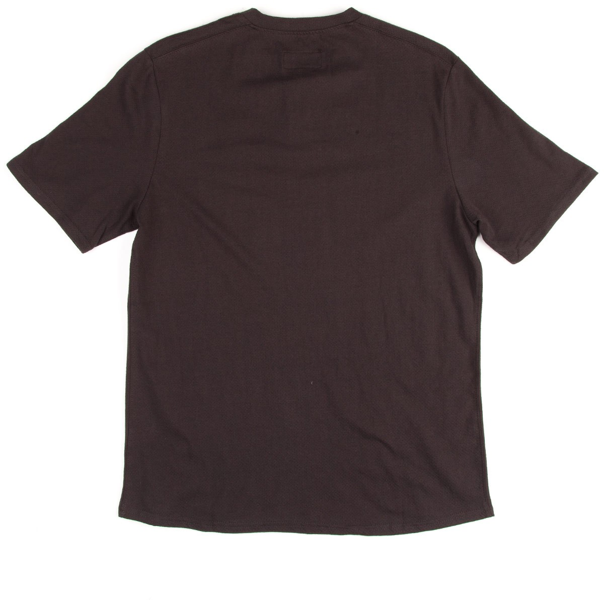 Ramsey Henley T-Shirt - Washed Black