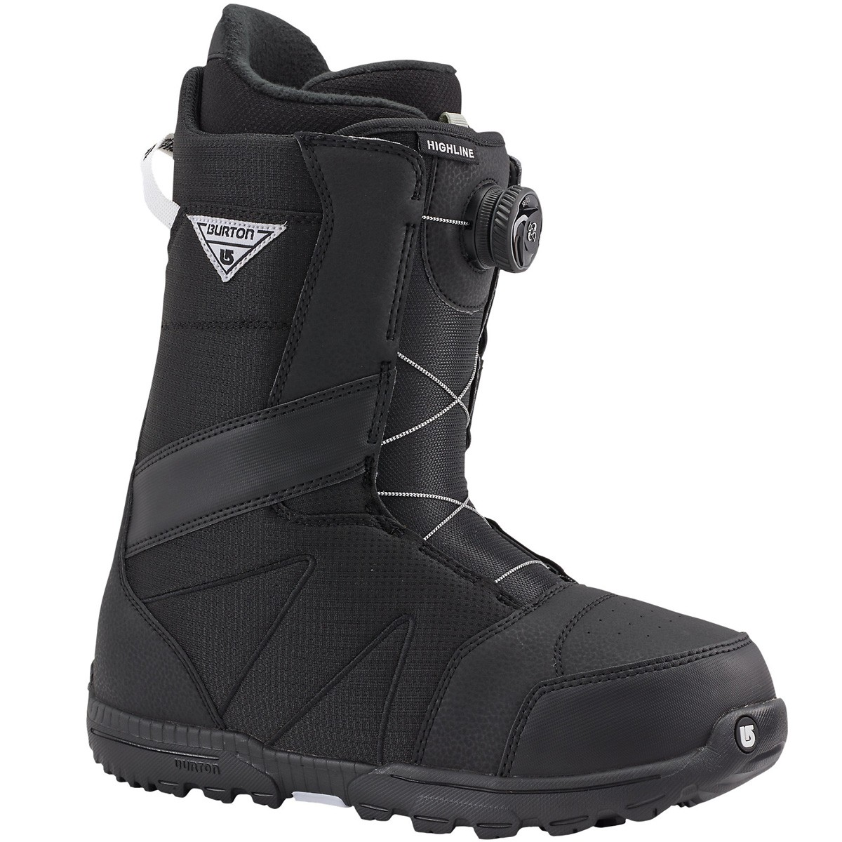 burton highline boa snowboard boots 2016 black. Black Bedroom Furniture Sets. Home Design Ideas