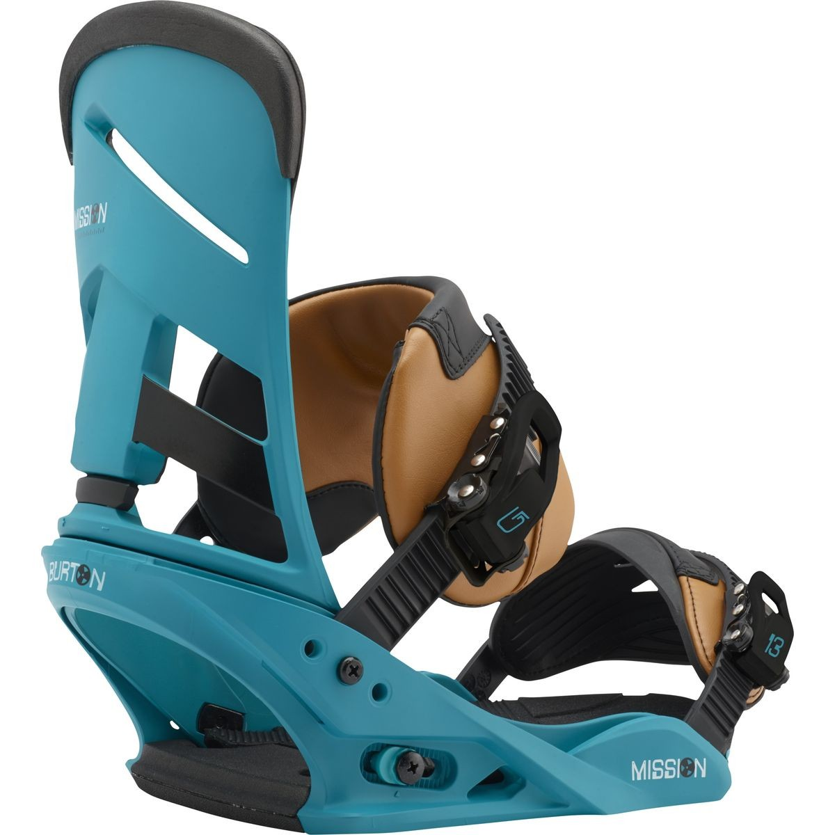 Burton Mission Snowboard Bindings 2017 - Real Recognize Teal