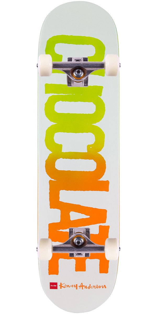 """Chocolate Anderson Flyers Skateboard Complete - 8.125"""""""