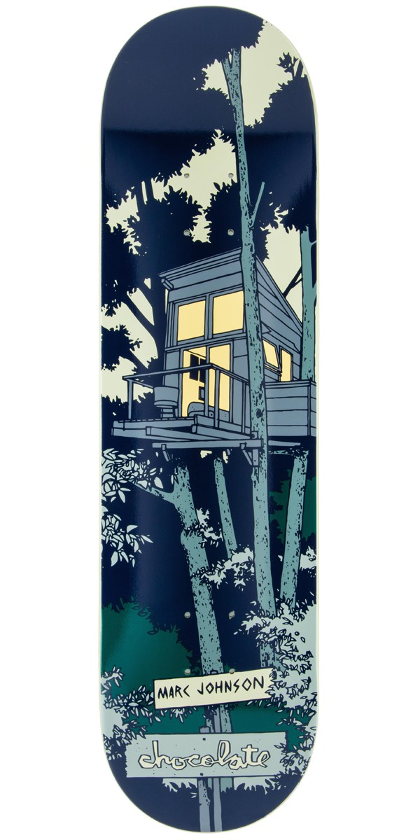 Chocolate Marc Johnson Tree House Skateboard Deck - 8.125""