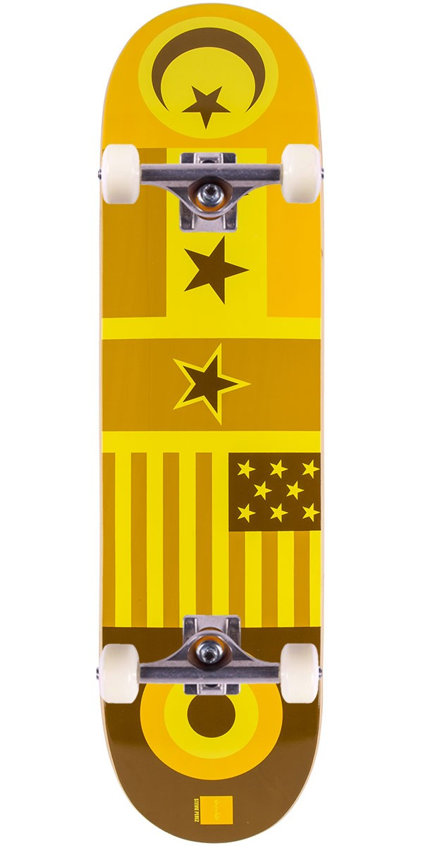 Chocolate Perez Flags Skateboard Complete - 8.25""