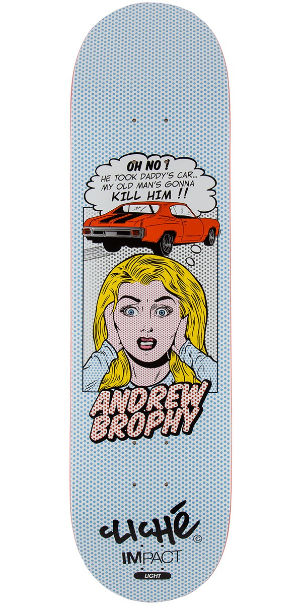 Cliche brophy pop babes impact light skateboard deck 825 aloadofball Gallery