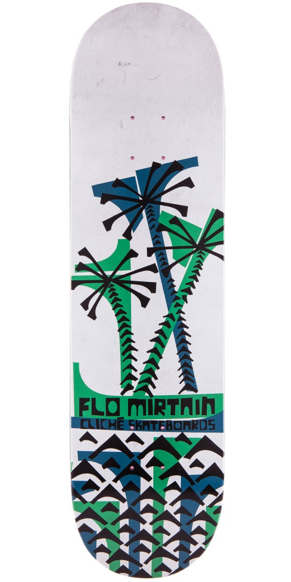 Cliche Mirtain Grip Art Series Skateboard Deck - 8.25""