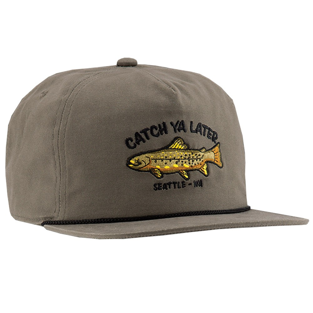 Coal The Great Outdoors Hat - Olive