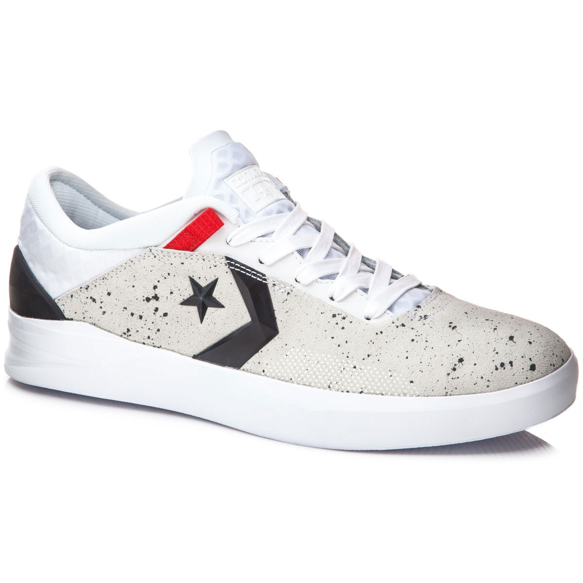 Converse Black And Red Canvas Shoes