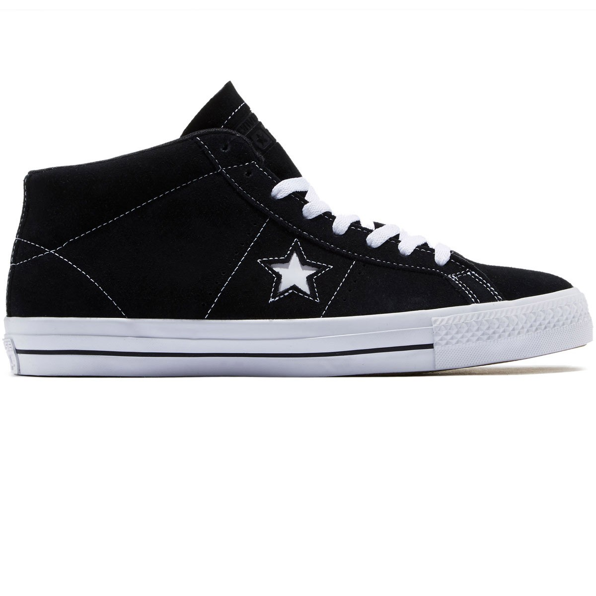 caeedfb110fab8 Converse One Star Pro Shoes - Nightime Navy Pink Freeze White - 10
