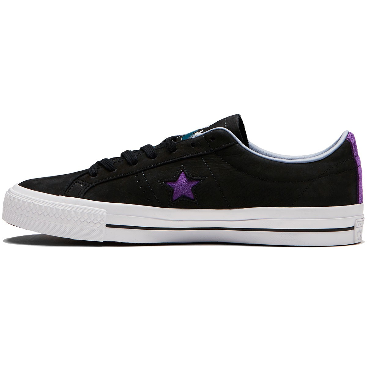 Converse X Dinosaur Jr One Star Pro Ox Shoes - Black Allium Purple White e0bffdfcd