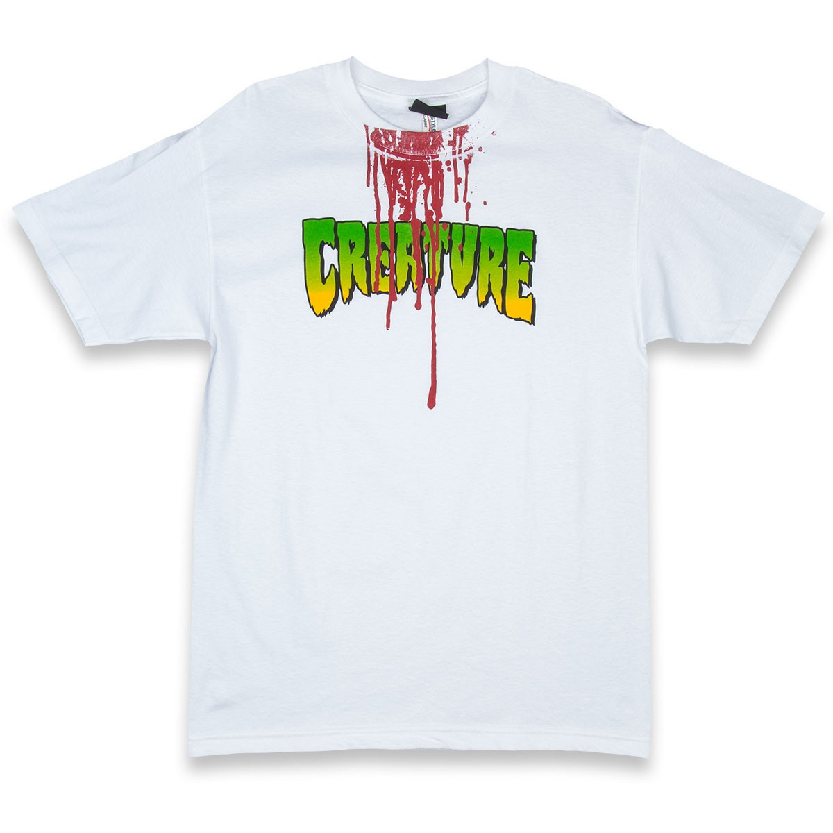 Creature good times t shirt white for Good white t shirts