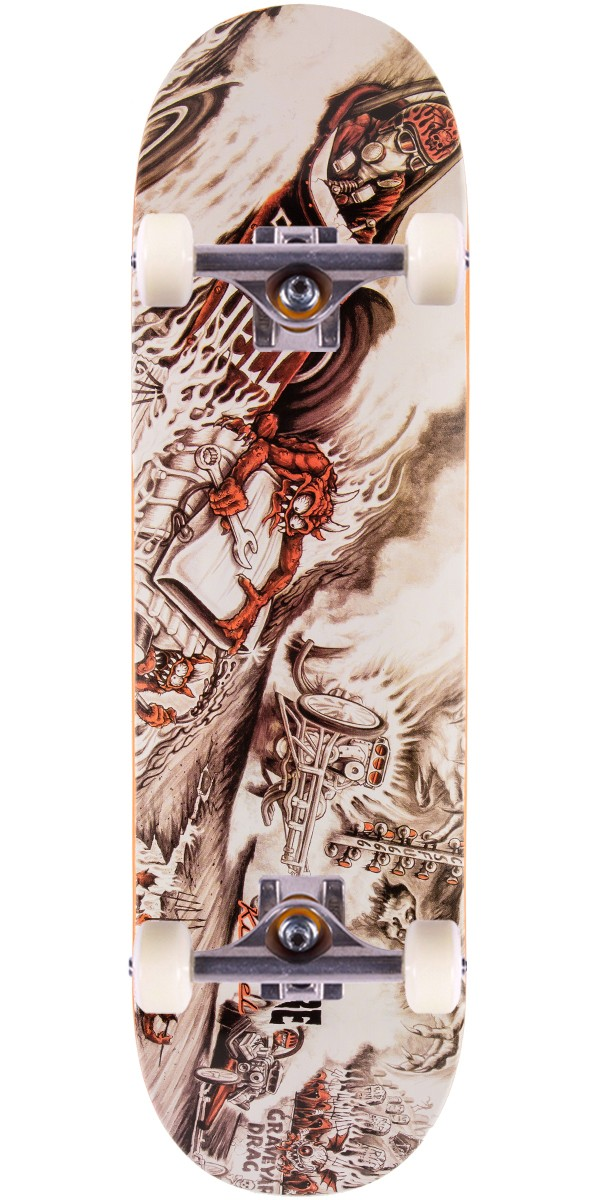 """Creature Kimbel Strait to Hell Skateboard Complete - 9.0"""""""