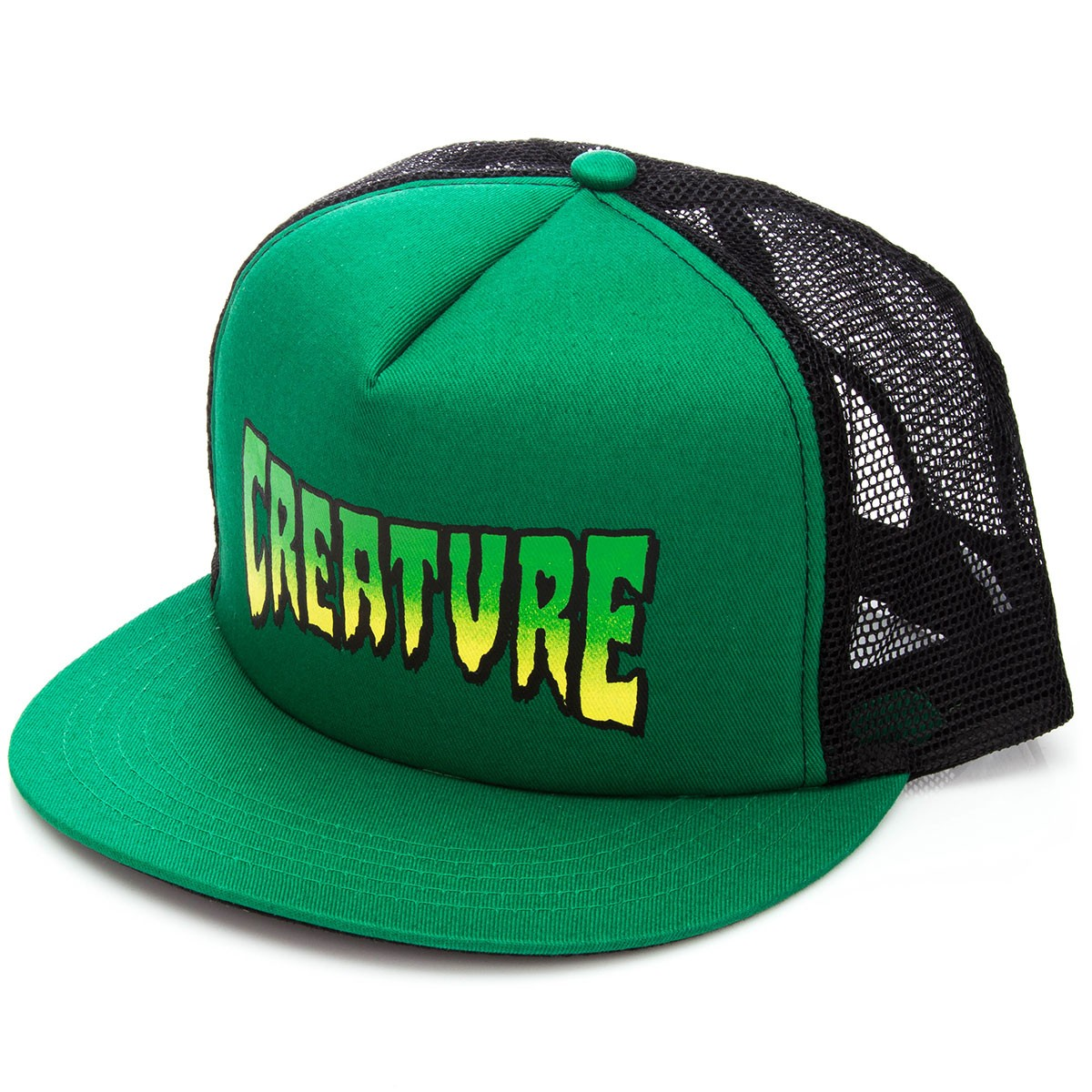 Creature Logo Trucker Hat - Forest Black 3d89a7f3964
