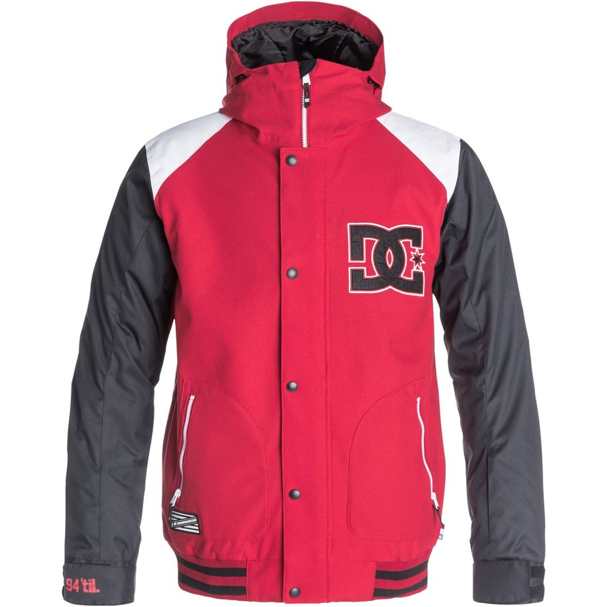 DC DCLA Snowboard Jacket - Tango Red