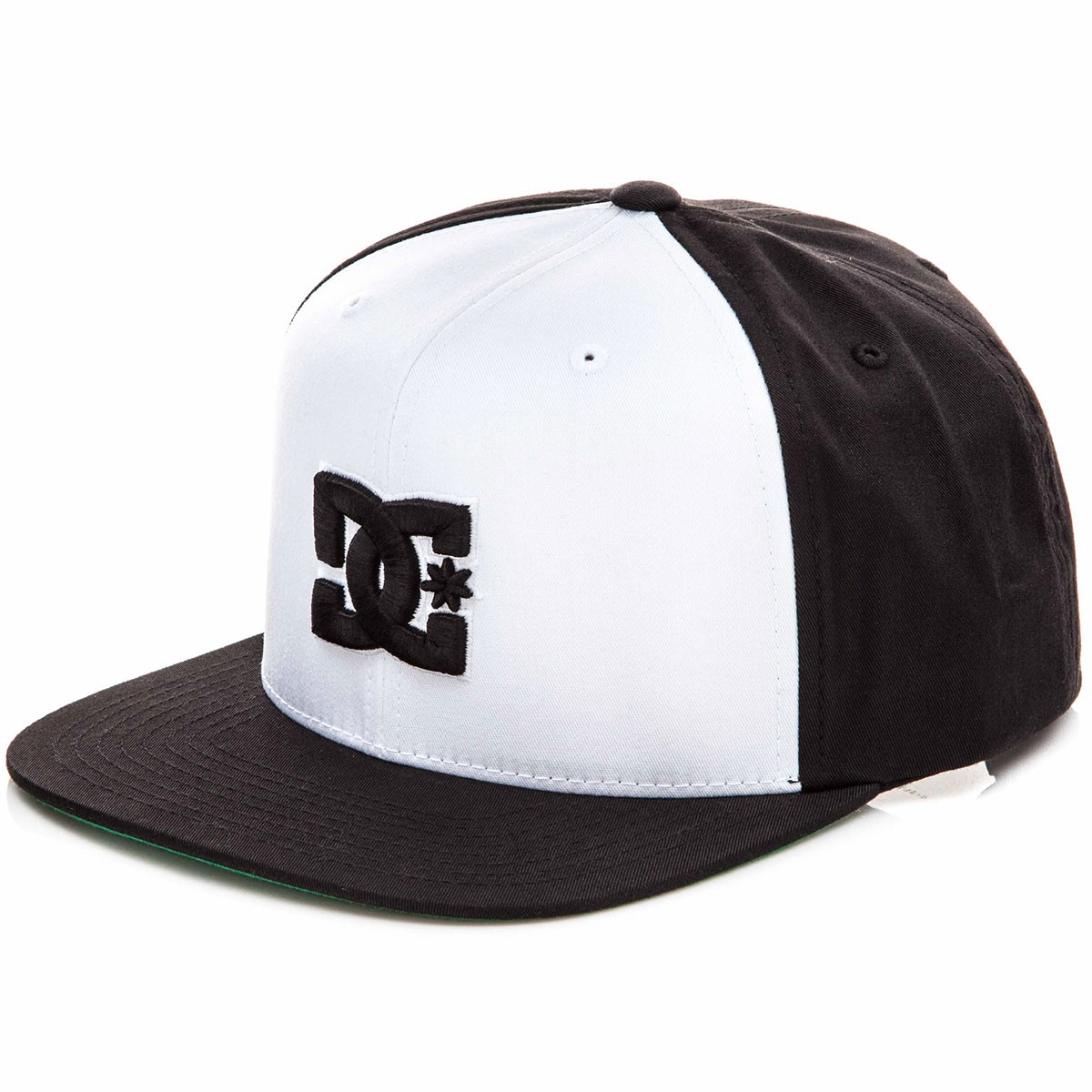 DC Snappy Hat - White/Black