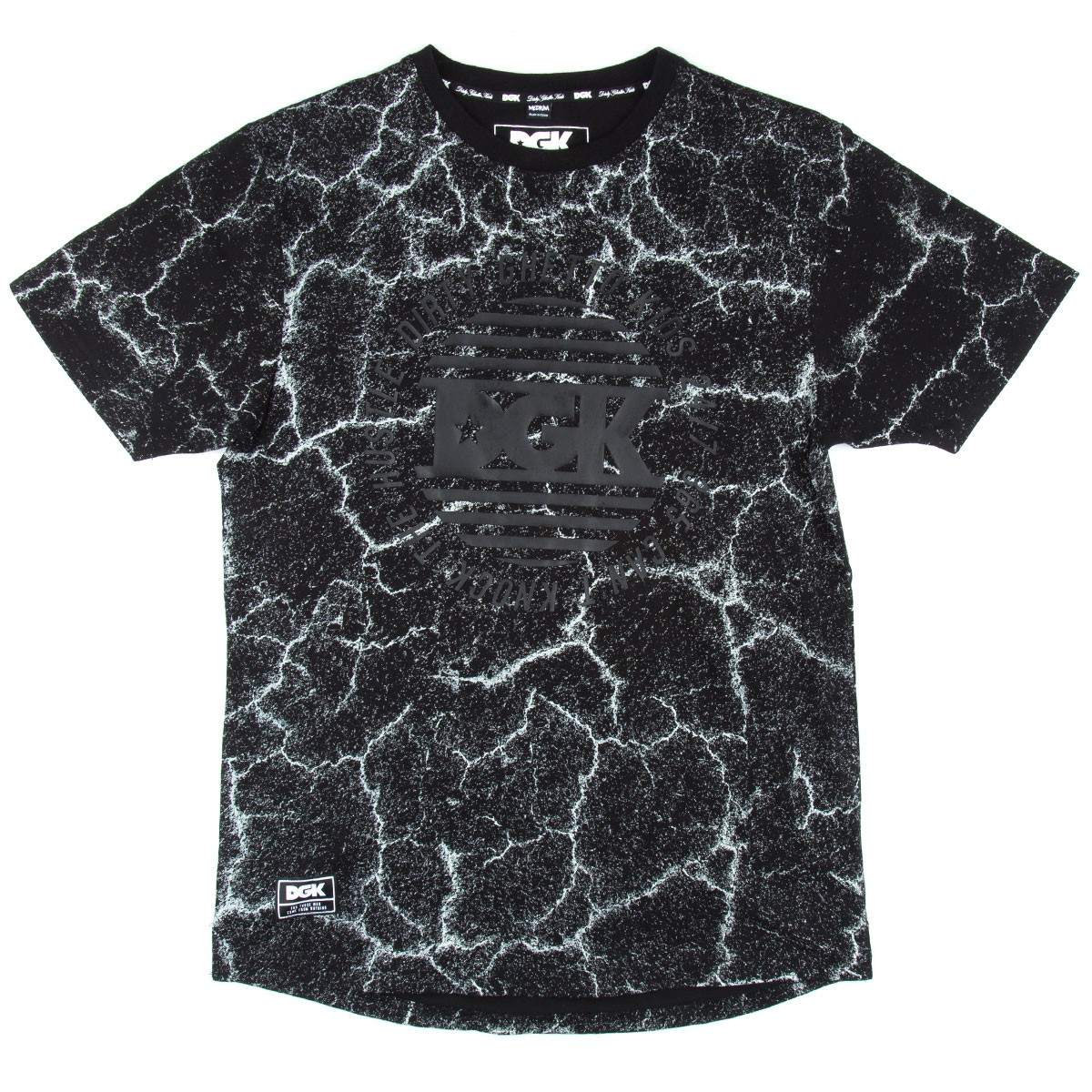 DGK Blacktop Custom T-Shirt - Black