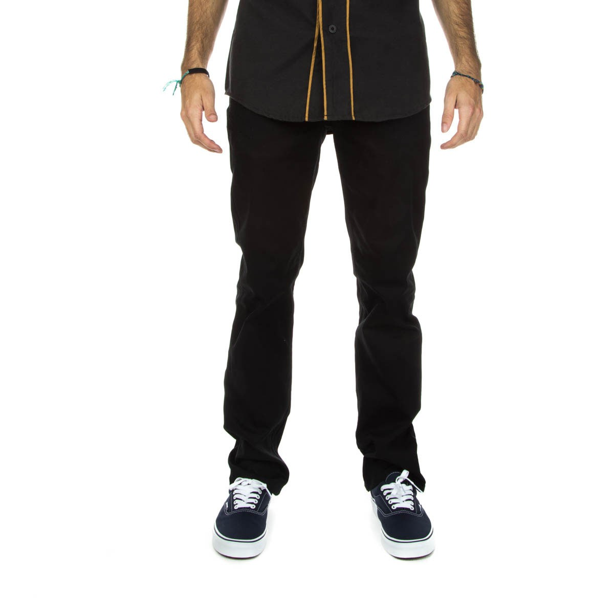 DGK Icon Stretch Twill Pants - Black
