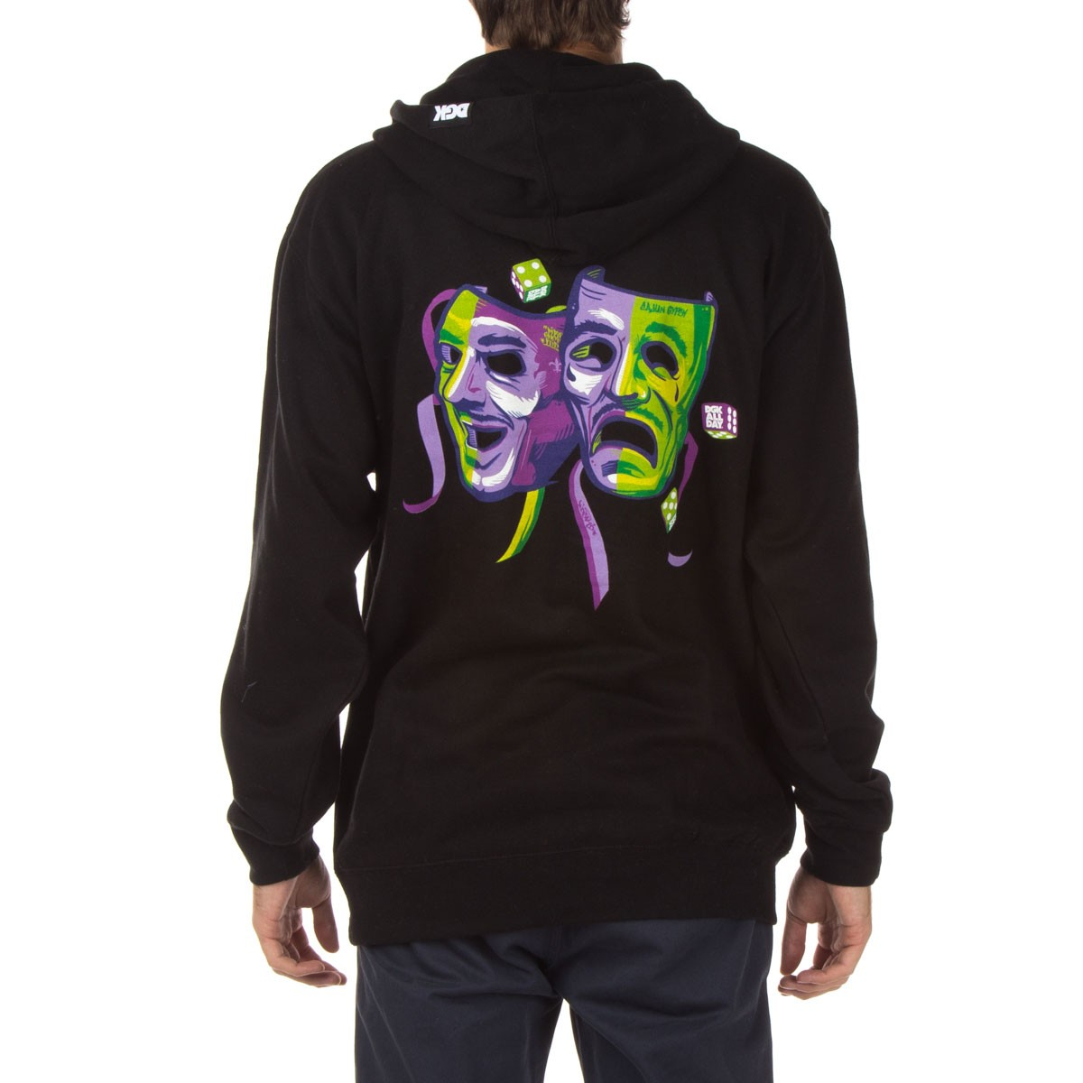 DGK Laugh Now Cry Later Fleece Hoodie - Black