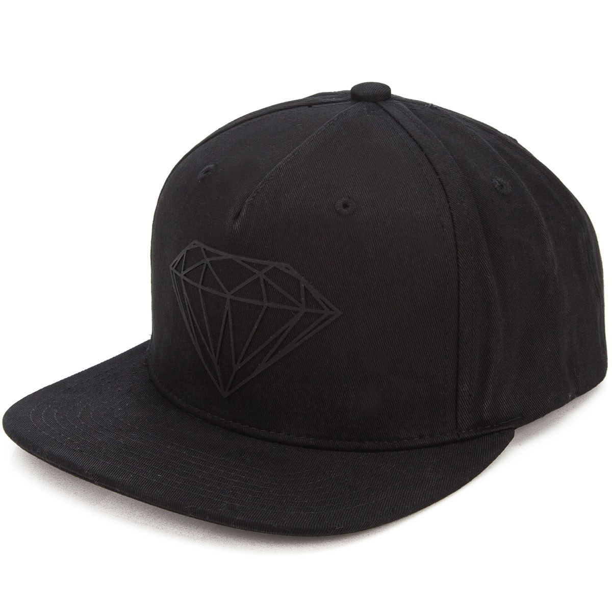 8d3633a0463904 Diamond Supply Co. Blackout Snapback Hat - Black