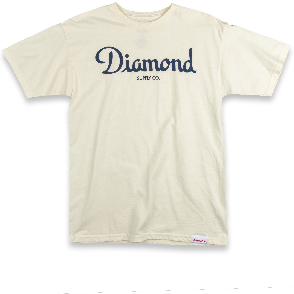 Diamond Supply Co. Champagne Script T-Shirt - Cream