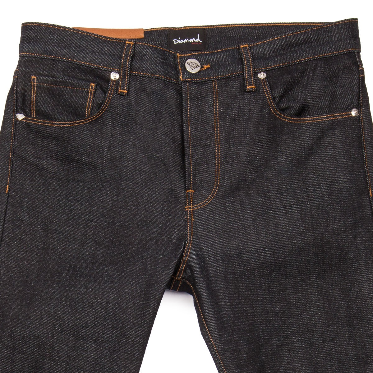 Dark denim slim fit jeans