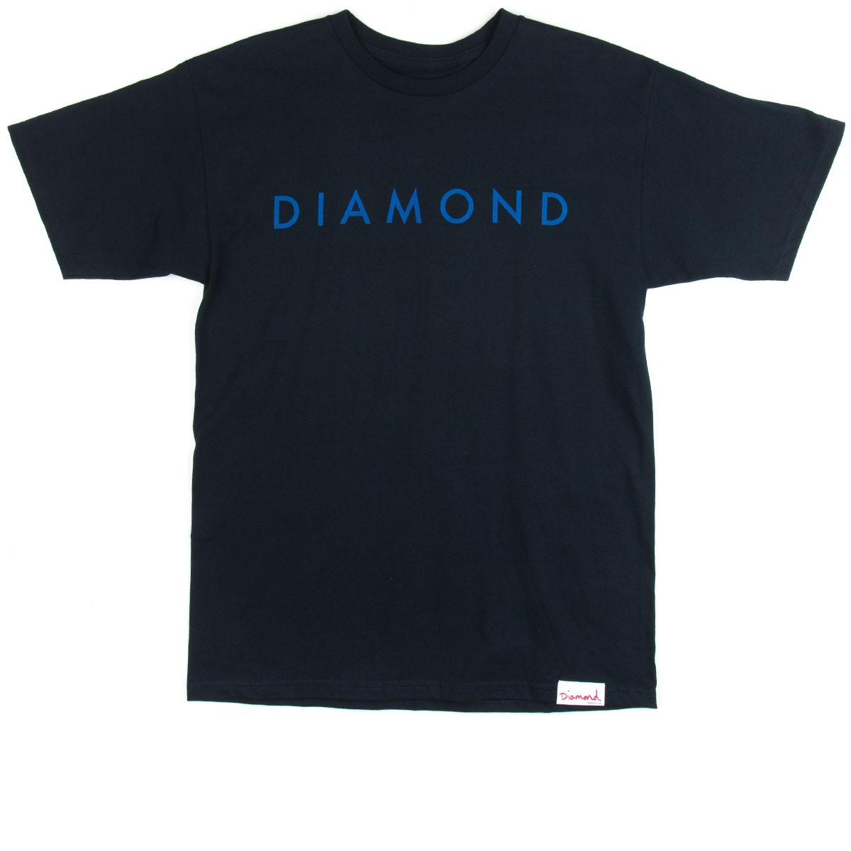 Diamond Supply Co. Facet Tonal T-Shirt - Navy