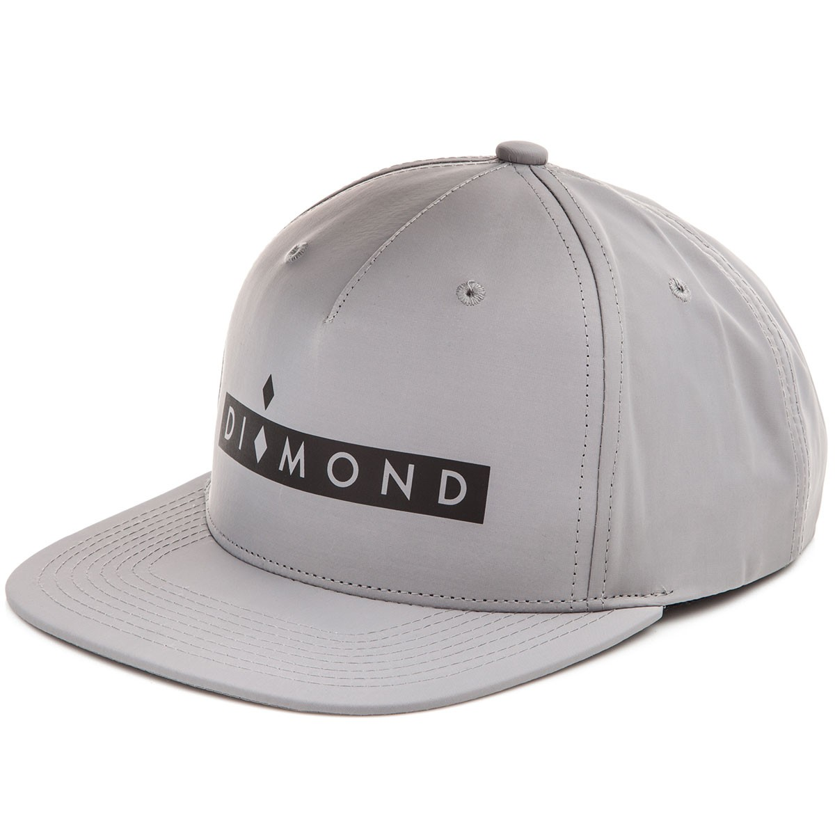 Diamond Supply Co. Marquise Clipback Hat - Grey