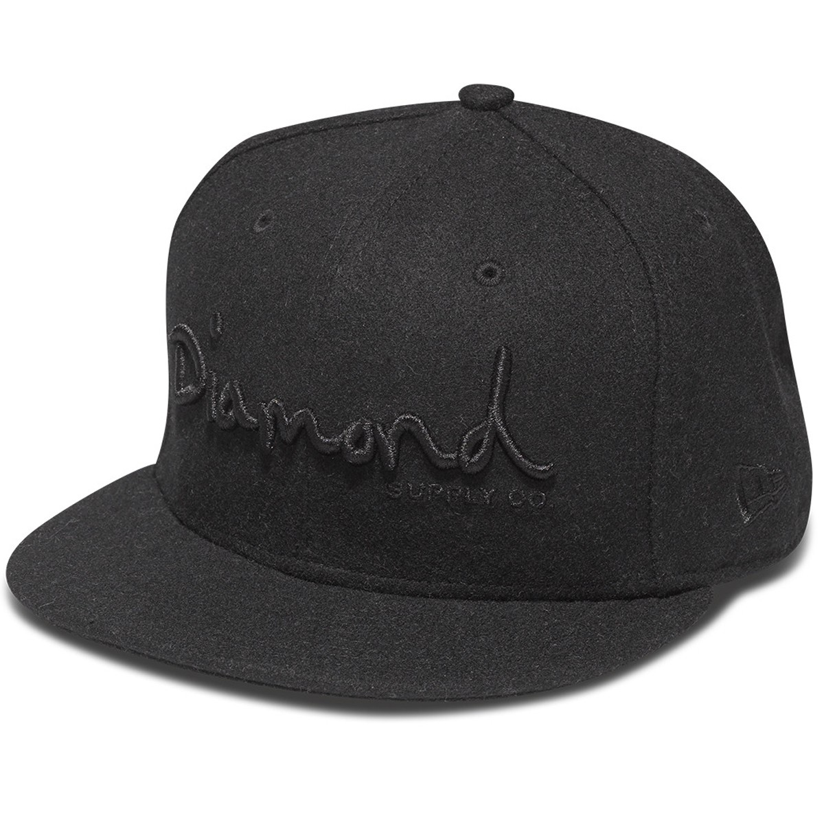 Diamond Supply Co. OG Script Fitted Hat - Black