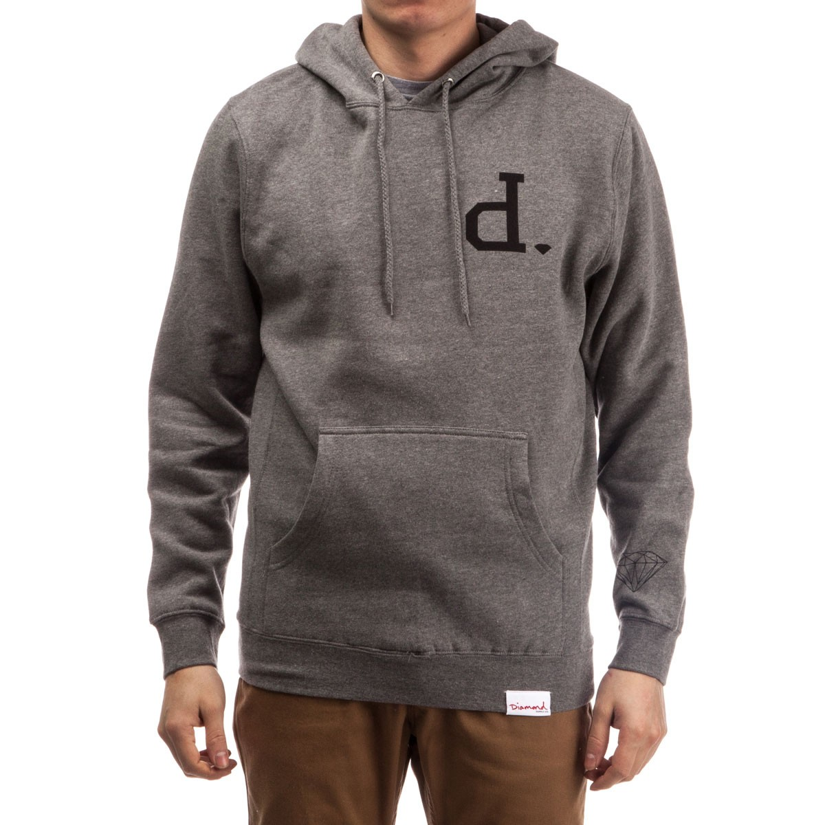 Supply Co. Un-Polo Pullover Hoodie - Gunmetal Heather
