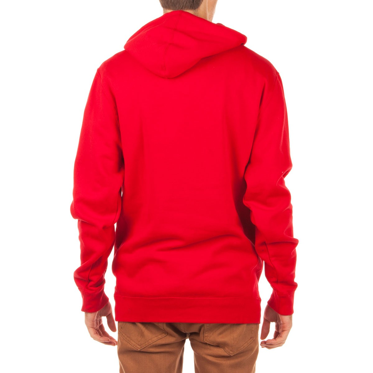Diamond supply co red hoodie