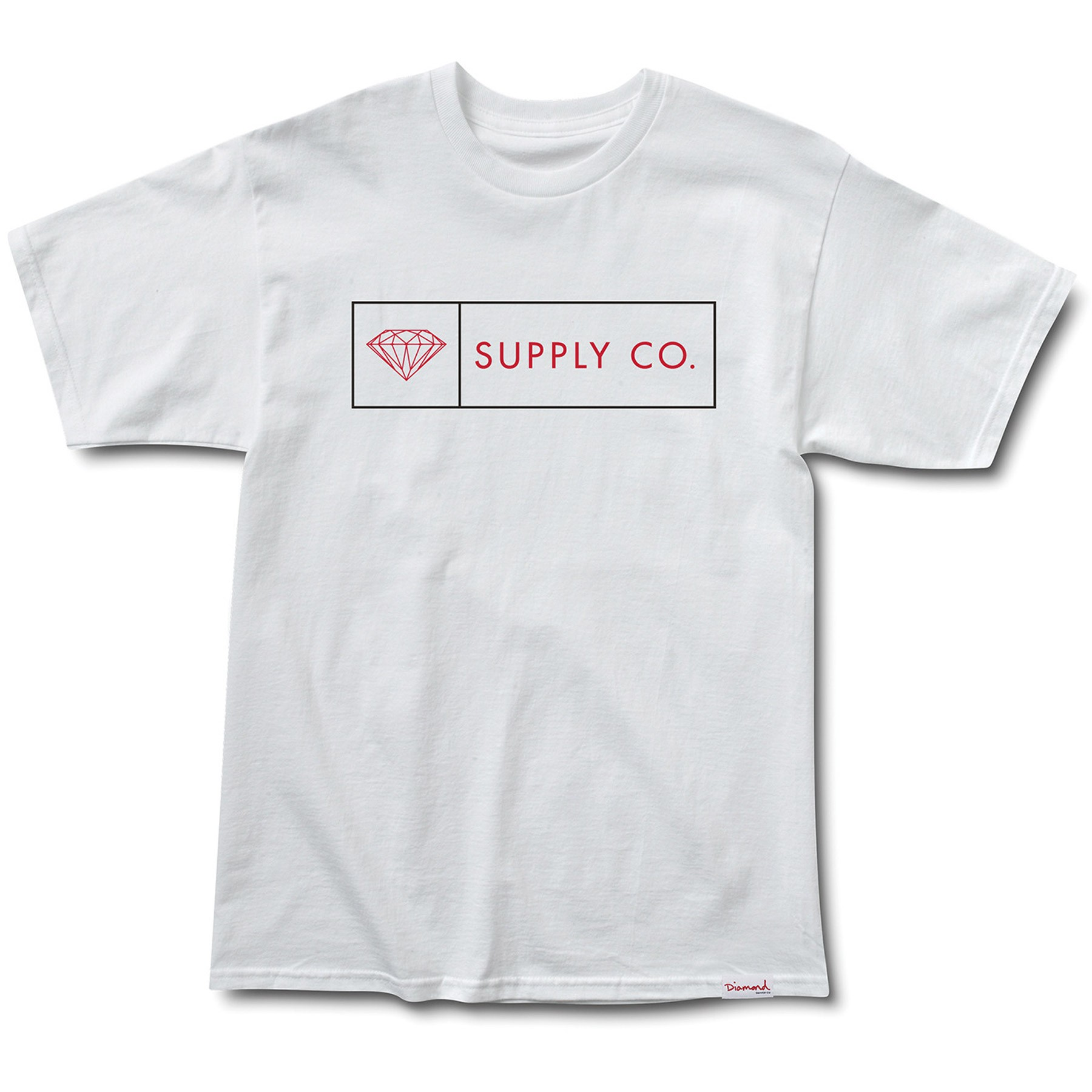 Diamond supply t shirts - Diamond Supply Co Boxed In T Shirt White