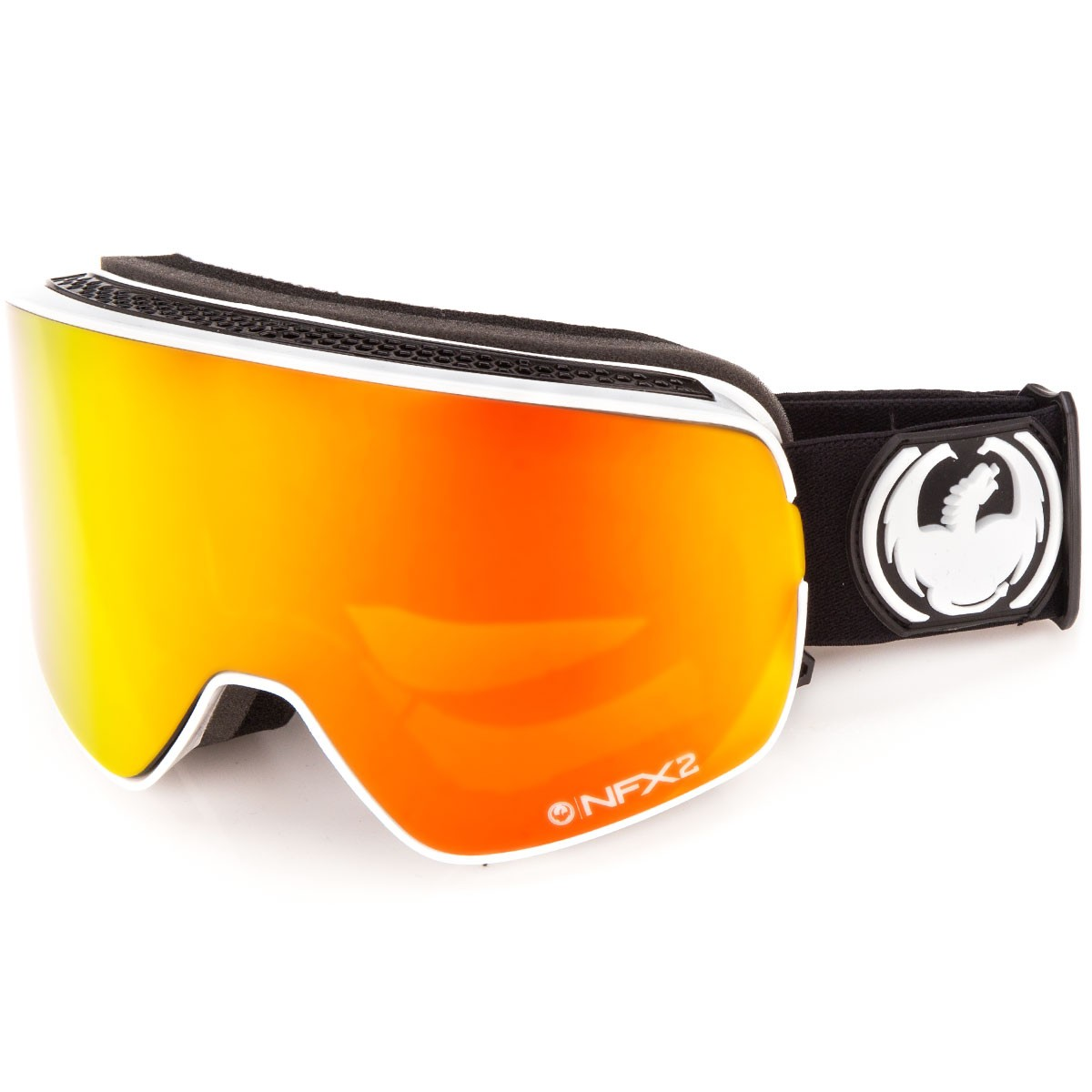 Dragon NFX2 Snowboard Goggles - Inverse/Red Ion with Yellow Blue Ion