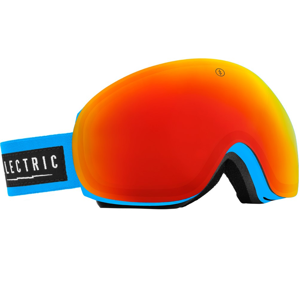 Electric EG3 Code Blue Snowboard Goggles 2015 - Bronze / Red Chrome