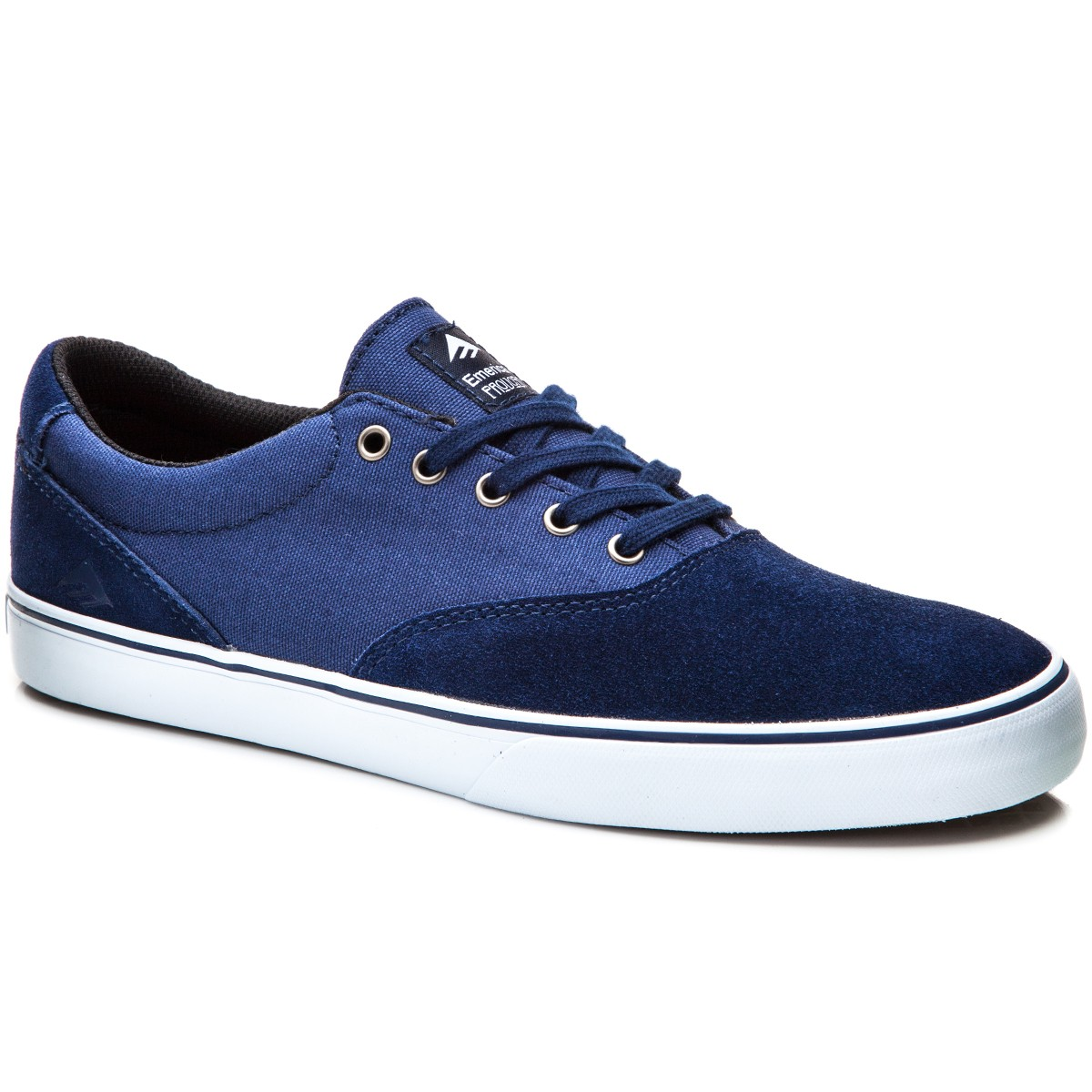 Emerica Provost Slim Vulc Shoes - Navy/White - 10.0