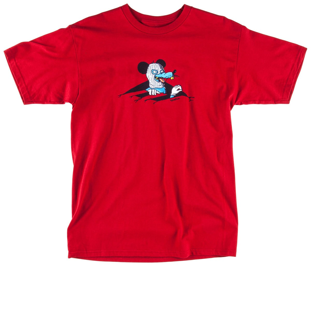 Emerica Rat Hole T-Shirt - Cardinal