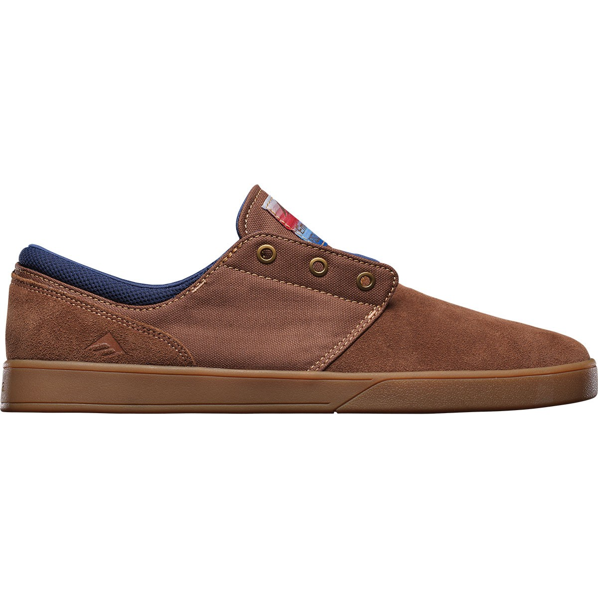Emerica The Figueroa Shoes - Brown/Gum - 10.0