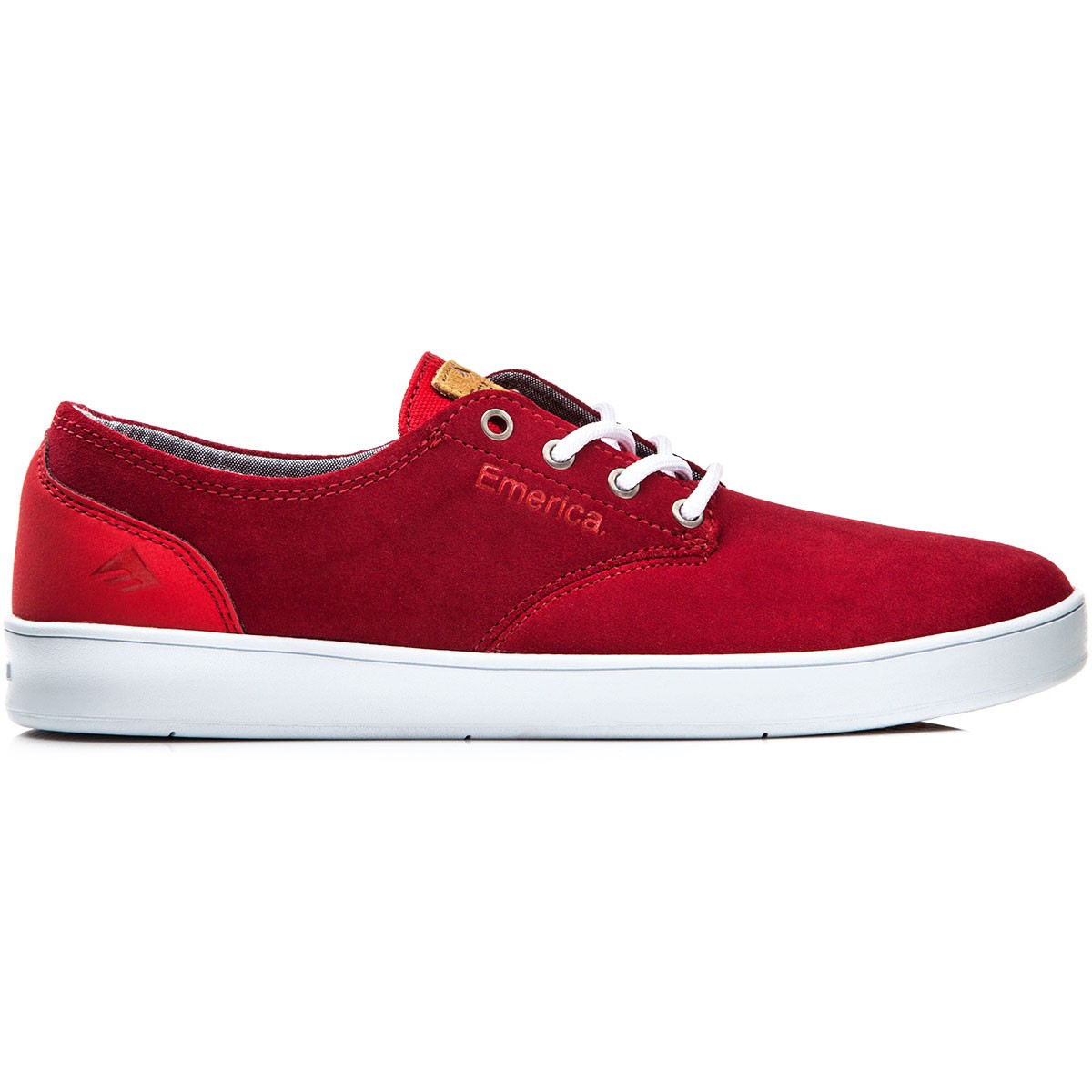 Emerica Laced Red Insoles Emerica On Shoe