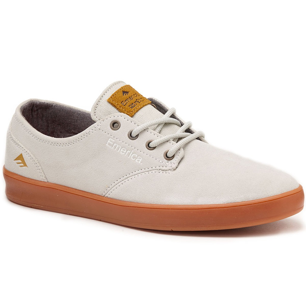 Emerica The Romero Laced Shoes - White/Gum - 8.0
