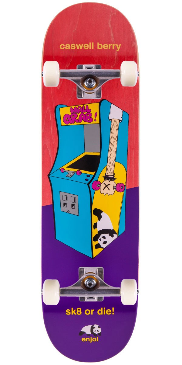 Enjoi Caswell Berry Arcade Machines Skateboard Complete - 8.5""
