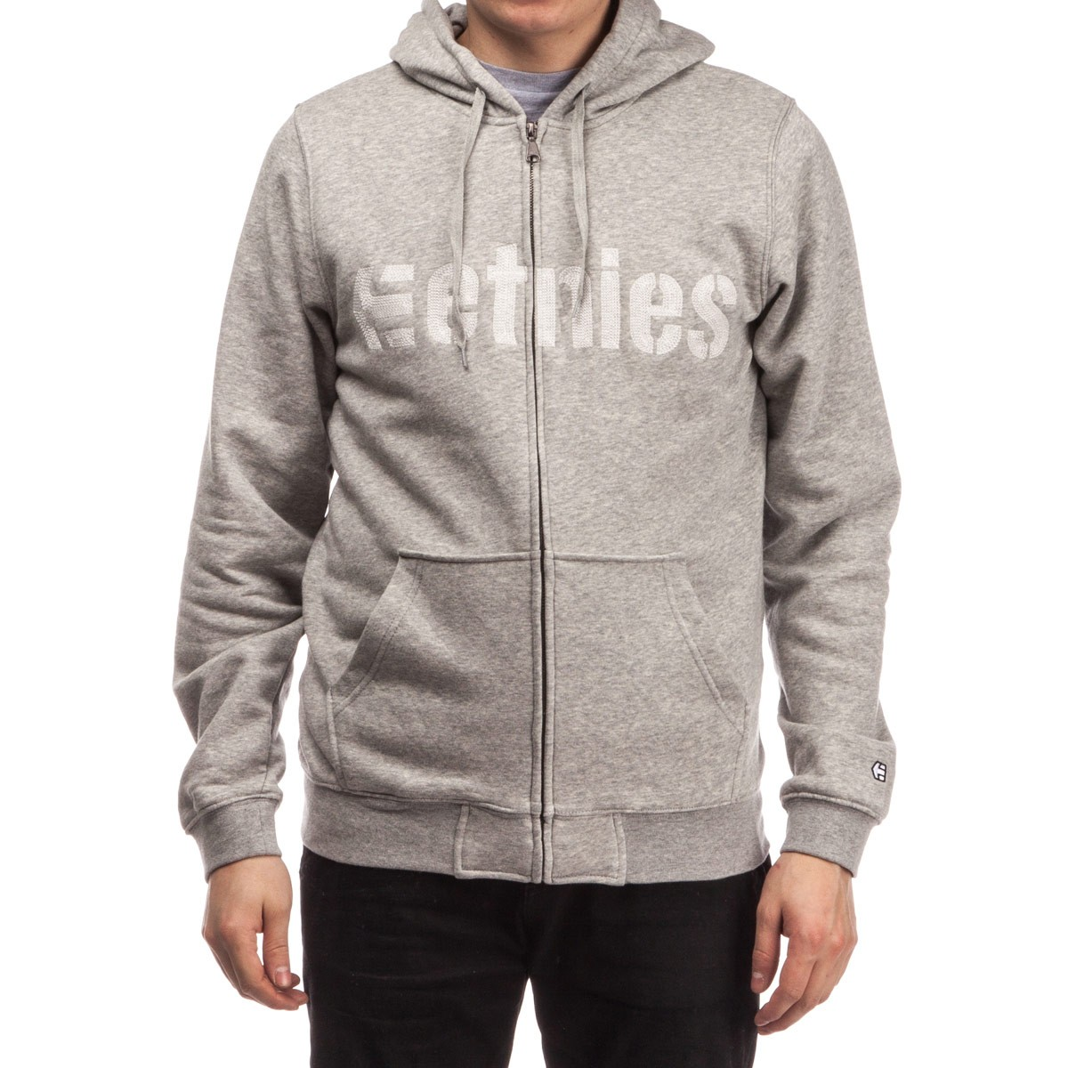 Etnies E-Lock Zip Hoodie - Grey/Heather