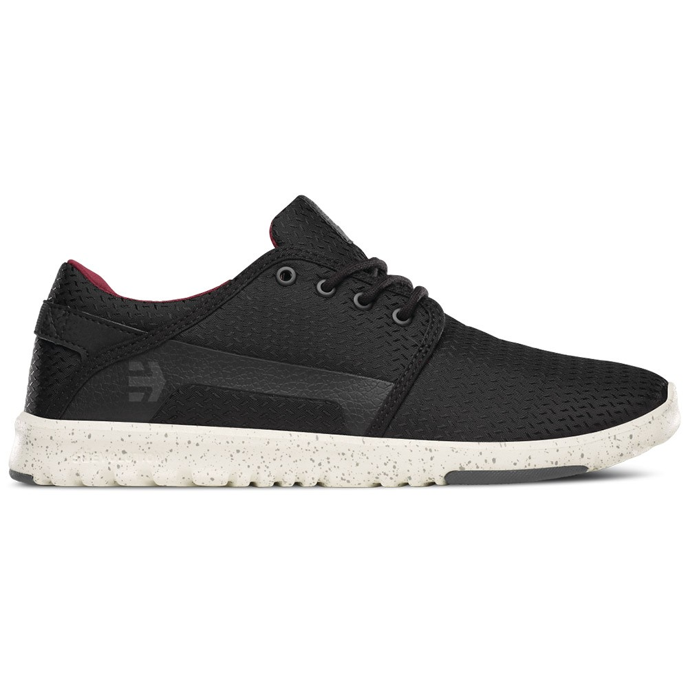 Etnies Scout Shoes Grey White Red