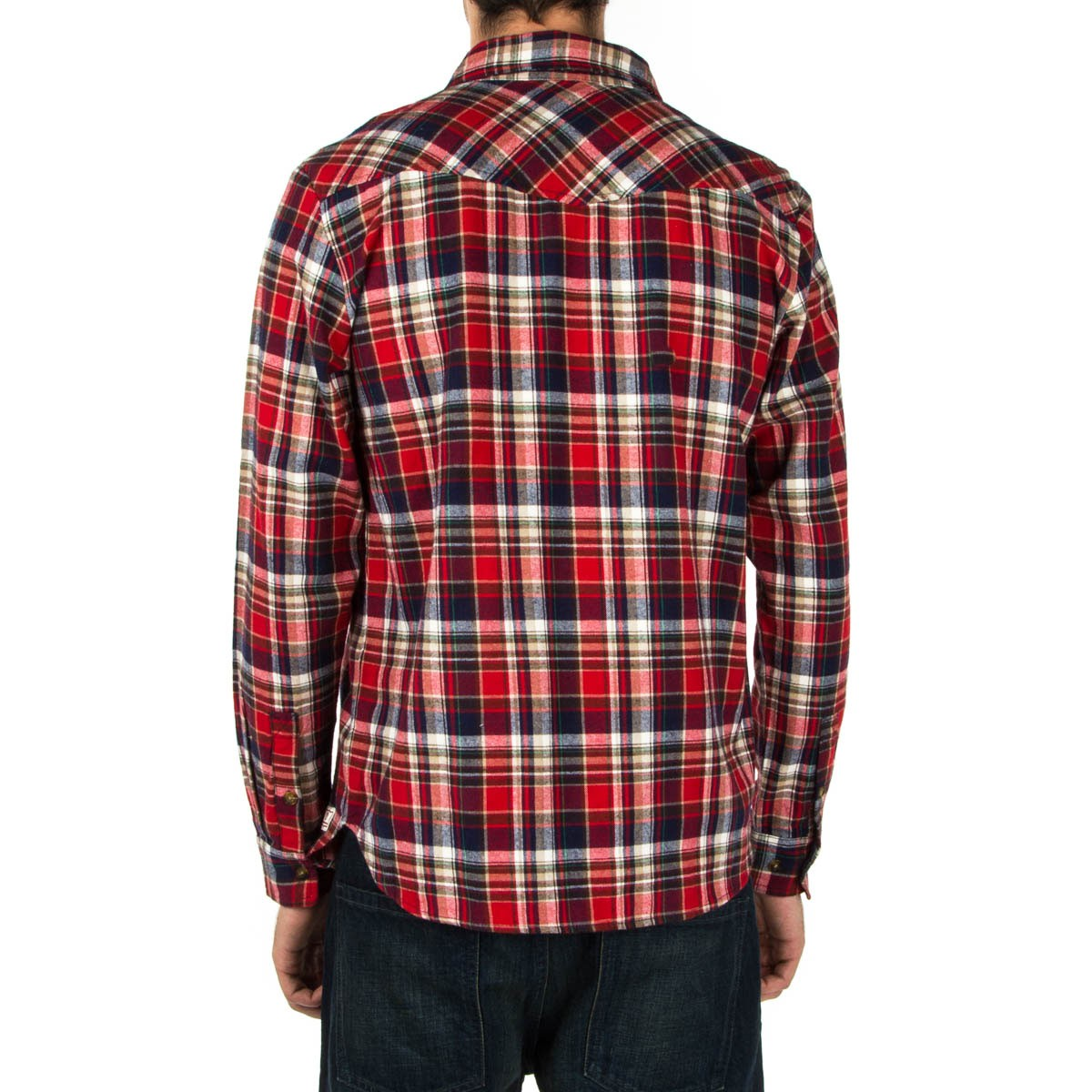 expedition one victory custom flannel shirt red