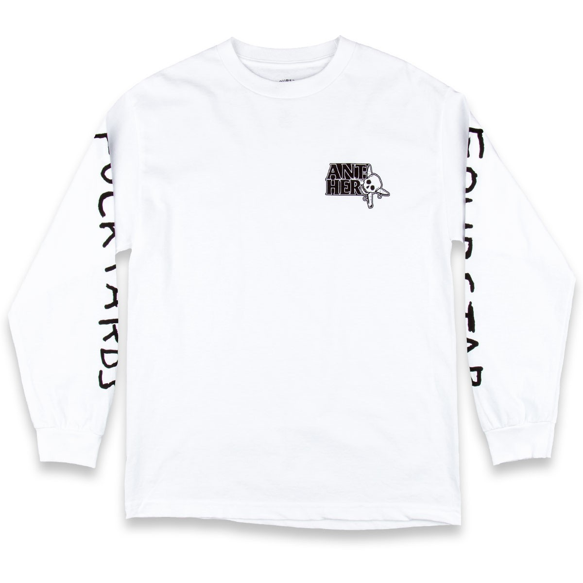 Fourstar Thumbs Up Long Sleeve T-Shirt - White