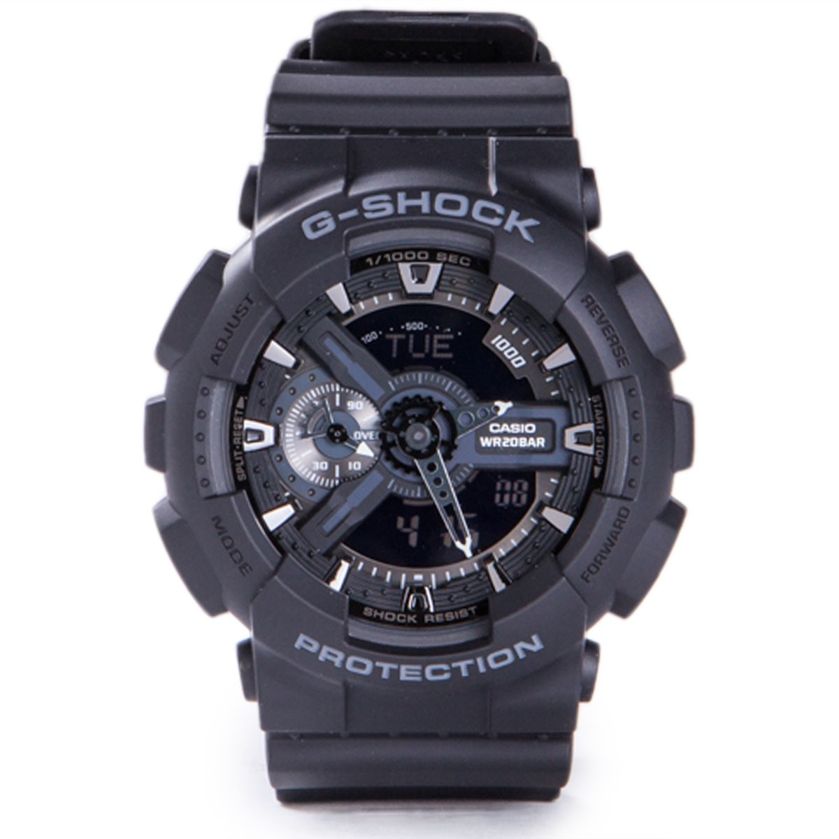 how to set a g shock watch ga110