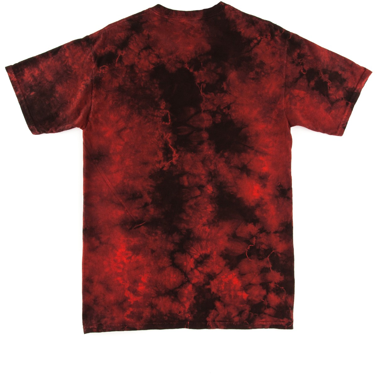 Gold first issue t shirt red black twist tie dye for How to dye a shirt red