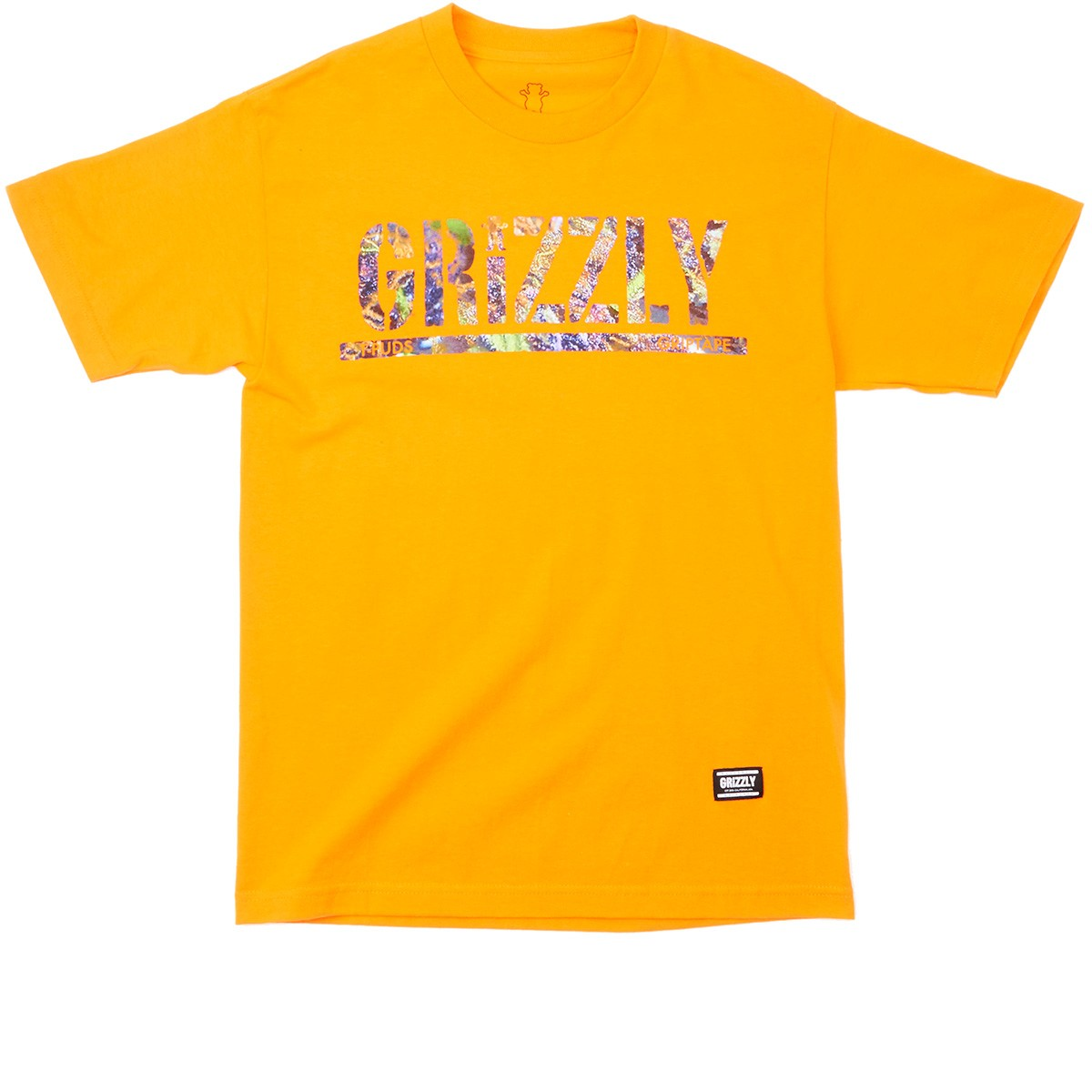 Grizzly Grip T-Puds Fruity Pebbles Stamp T-Shirt - Orange