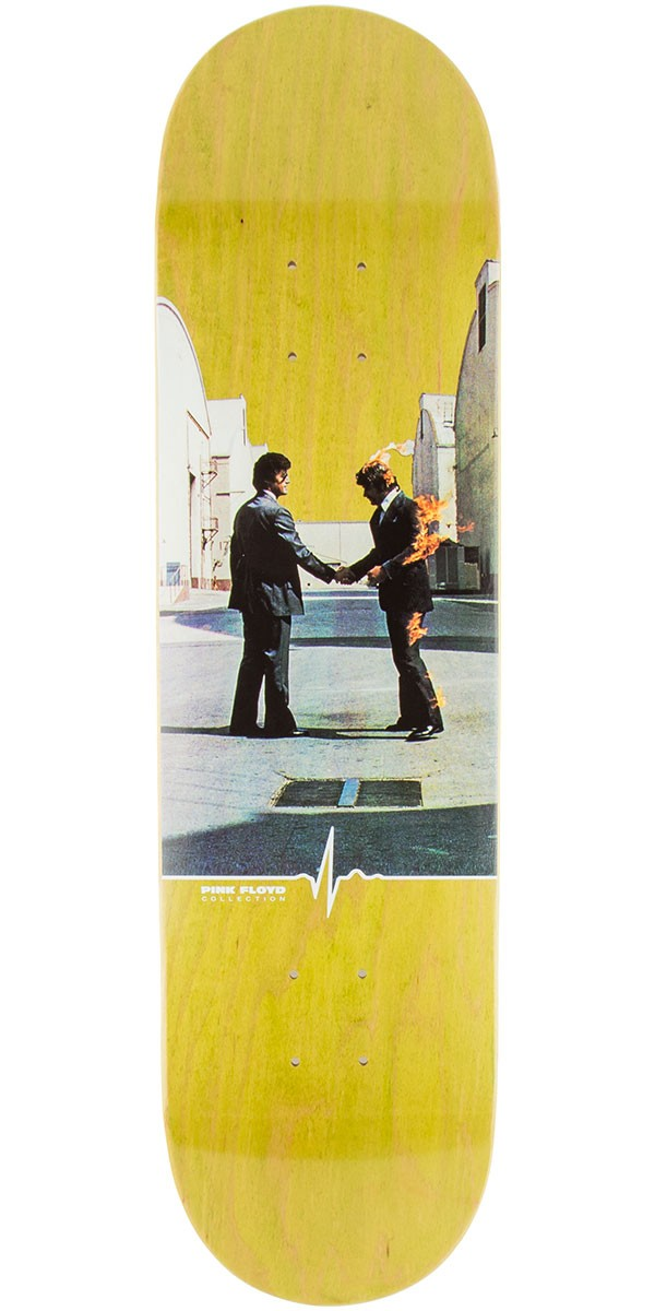 "Habitat Wish You Were Here Skateboard Deck - 8.25"" - Green Stain"