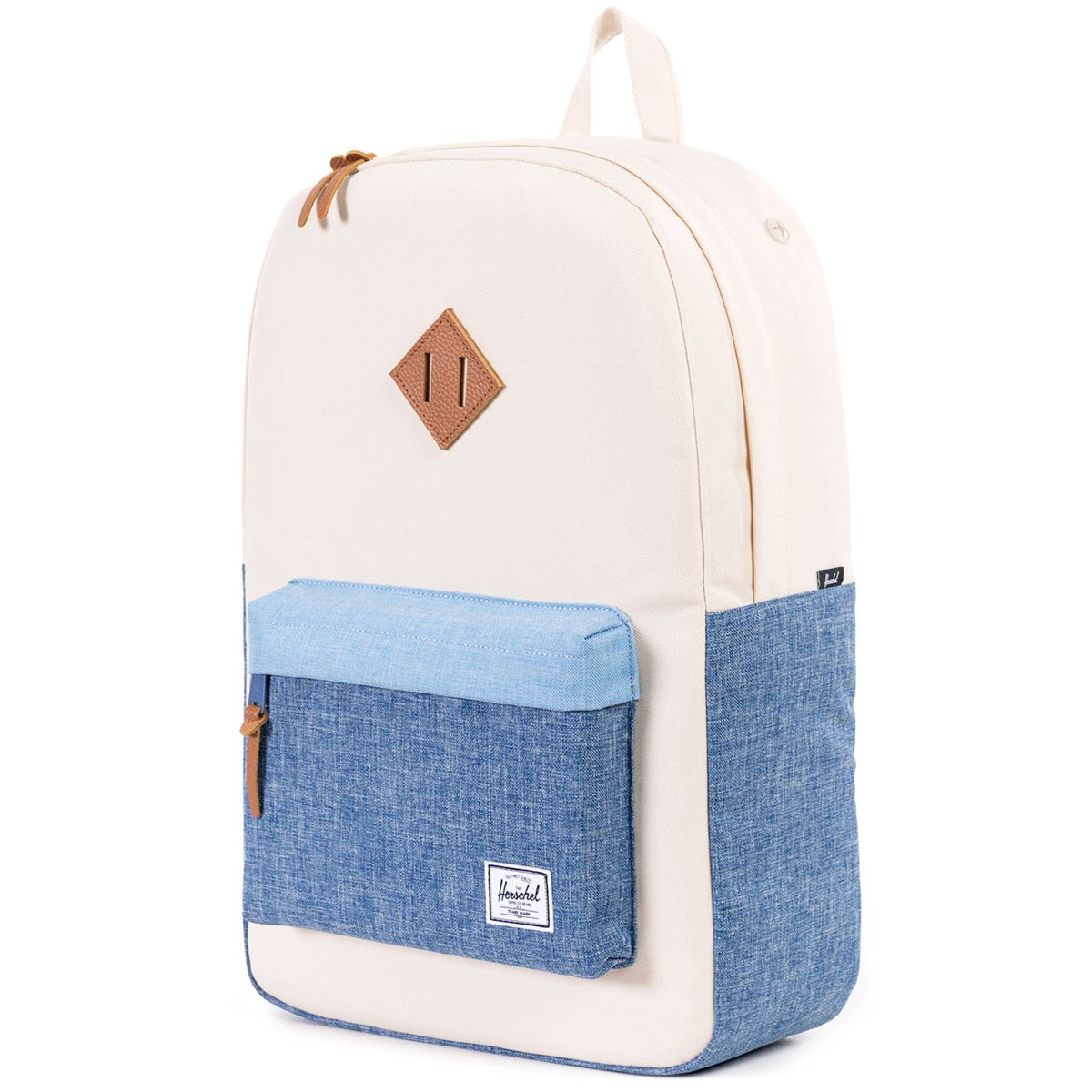 Herschel Heritage Backpack - Natural/Chambray/Limogess/Tan Leather