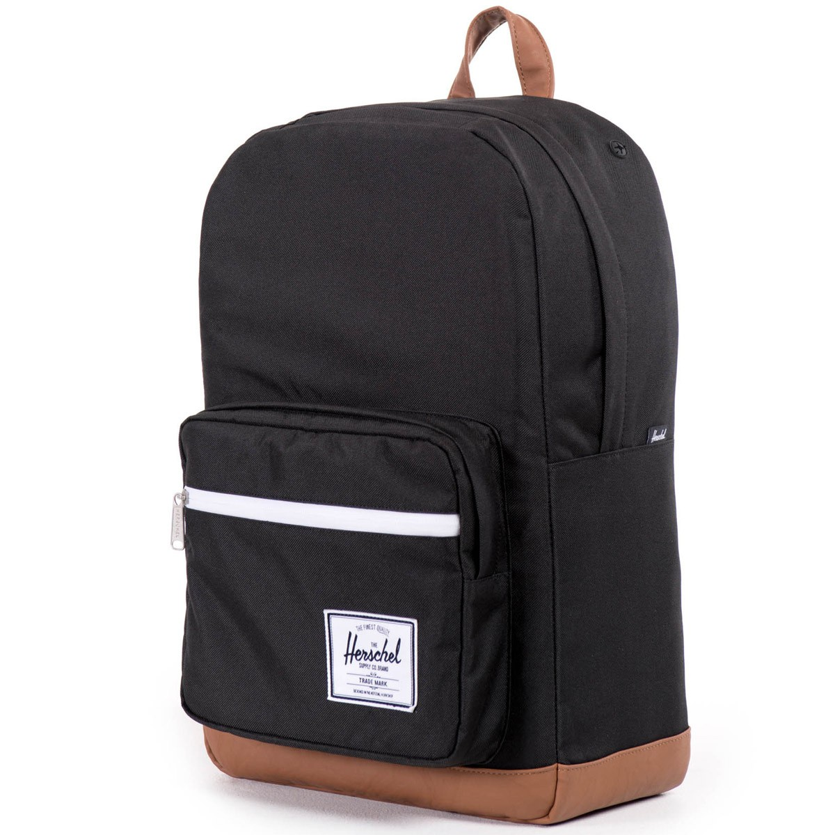 herschel pop quiz backpack black tan. Black Bedroom Furniture Sets. Home Design Ideas