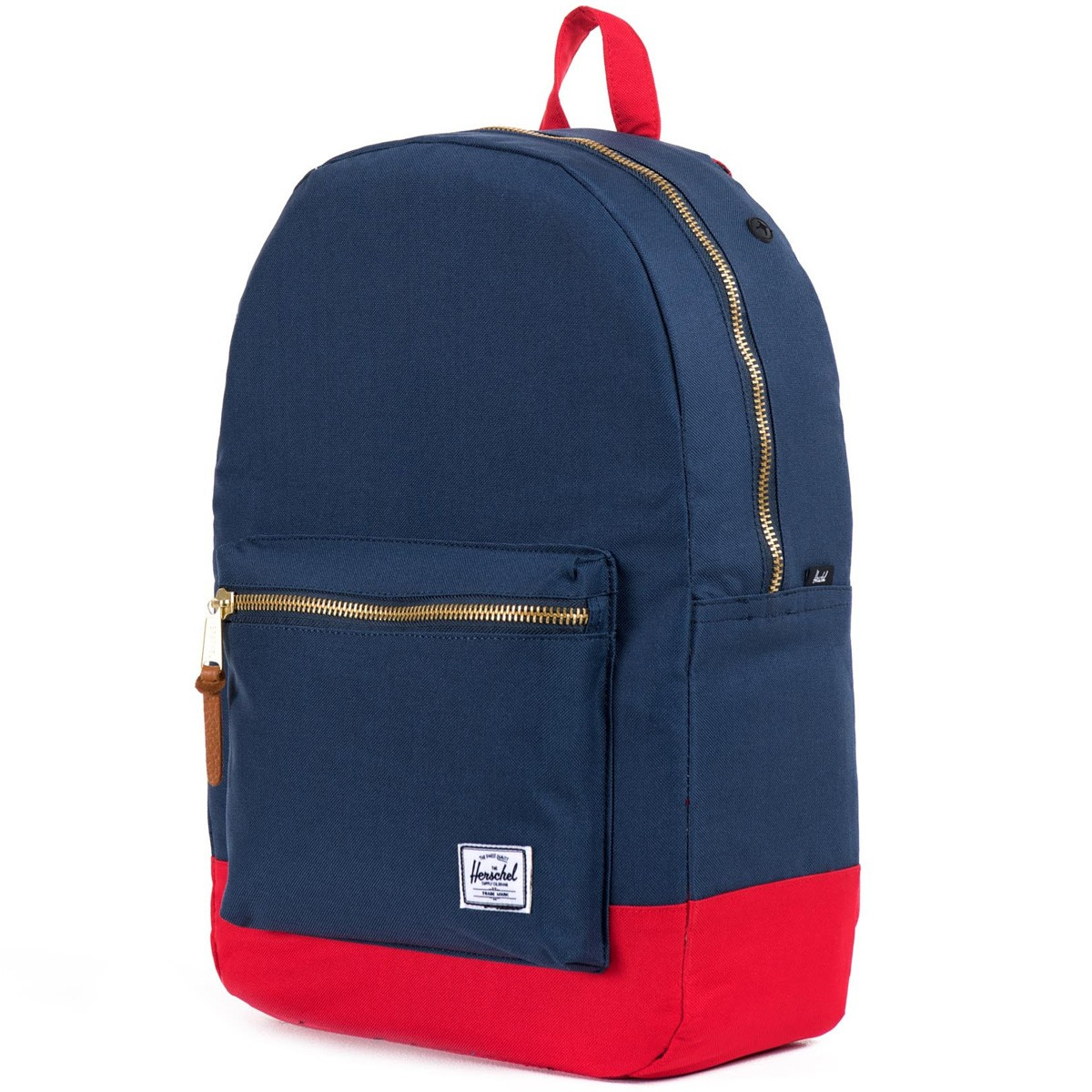 herschel settlement backpack navy red. Black Bedroom Furniture Sets. Home Design Ideas