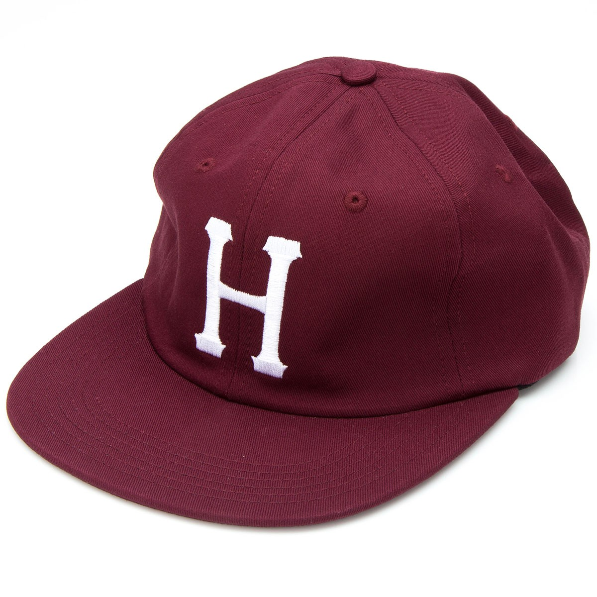 HUF Classic H 6 Panel Hat - Wine