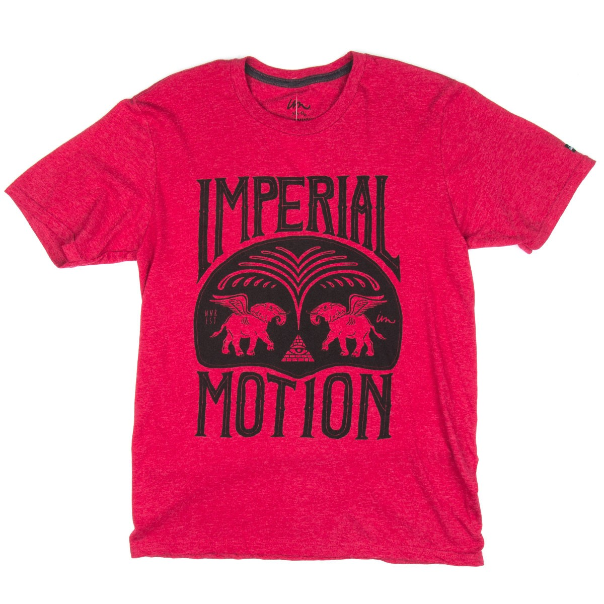 Imperial Motion Fountain T-Shirt - Red Heather